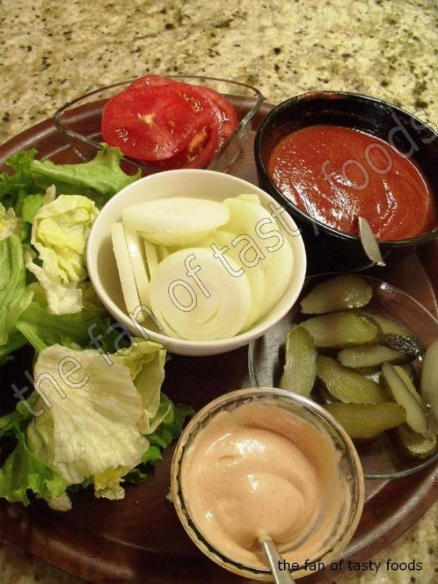 hamburger malzemeleri