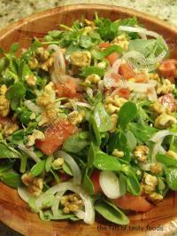 Ege Usulü Semizotu Salatası