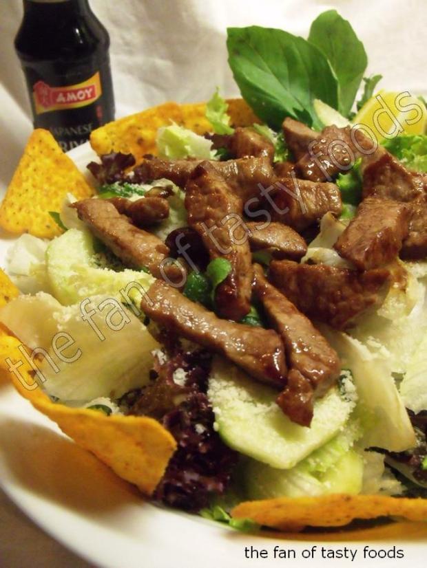 Steak Taco Salad Recipe — Dishmaps