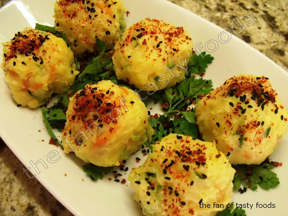 BAHARATLI SOĞUK PATATES TOPLARI | the fan of tasty foods