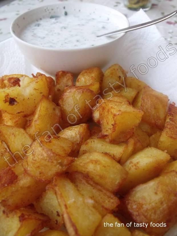 kızarmış haşlama patatesler