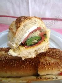 Fırınlanmış Baget Sandviç