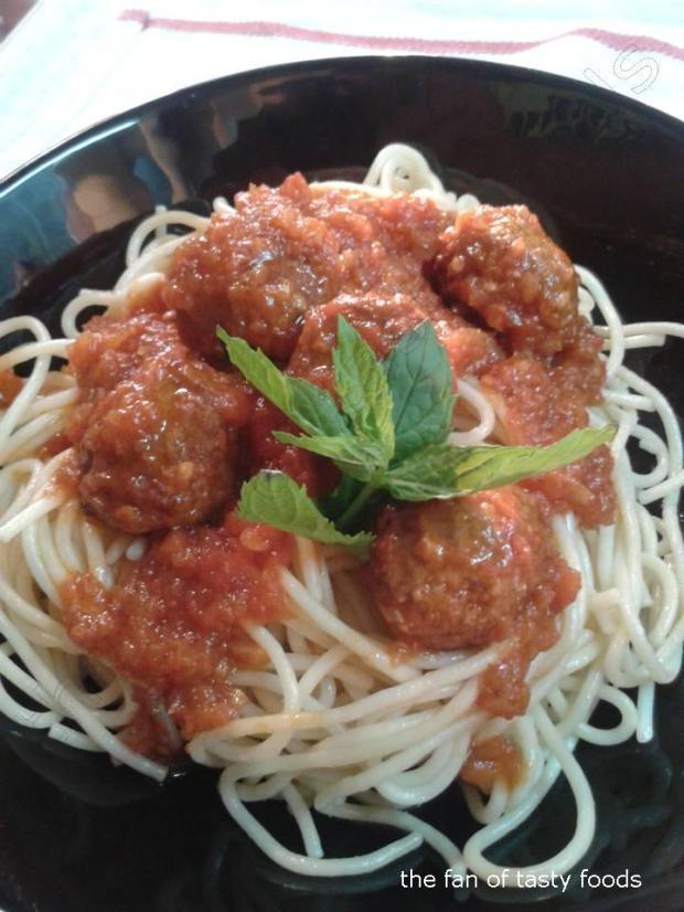 köfteli spaghetti