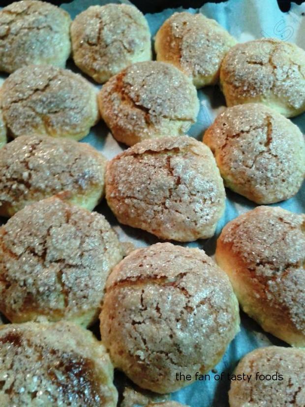 şekerli kıtır kurabiye