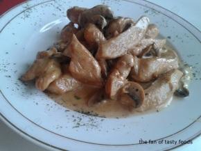 kremalı mantarlı tavuk